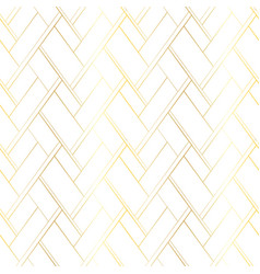 golden lines on a white background vector image
