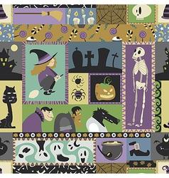 Halloween pattern 06 vector