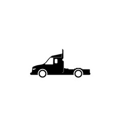heavy vehicles icon element of popular transport vector image