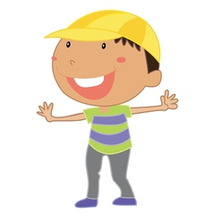Little kid vector image