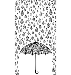 Wet background vector image