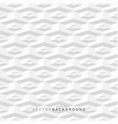 white and gray tile seamless hexagonal texture vector image