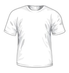 White tshirt vector