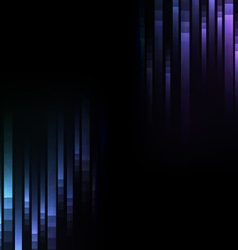 blue abstract pixel speed reverse background vector image vector image