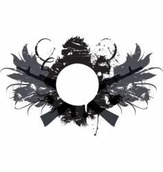 crest vector image