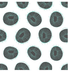abstract circles seamless pattern vector image