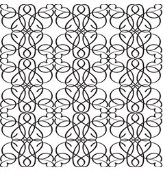 abstract elegant monochrome seamless pattern vector image