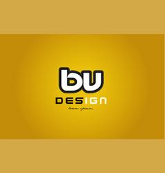 Bv b v alphabet letter combination digit white on vector