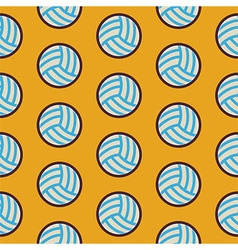 Flat Seamless Sport and Recreation Activity vector image