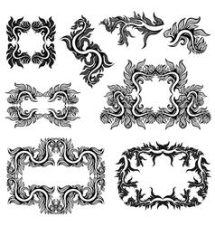 Frames collection vector
