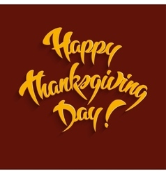 Happy Thanksgiving Day Greeting Card vector