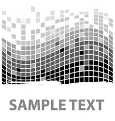 squares texture mono sample i vector image