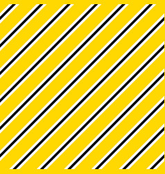 yellow and black diagonal lines seamless vector image