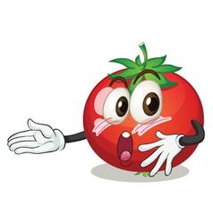 a tomato vector image vector image