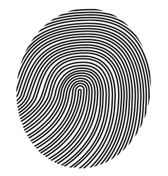 Drawing fingerprint vector