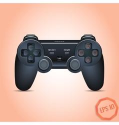Gamepad Joystick Joystick game console Realistic vector
