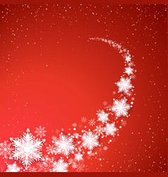 holiday blizzard christmas and new year vector image