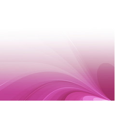 Purple curved abstract background vector