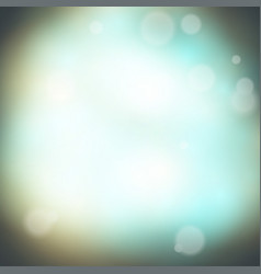 soft colored abstract background vintage lights vector image