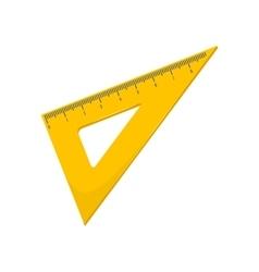 Triangular ruler vector