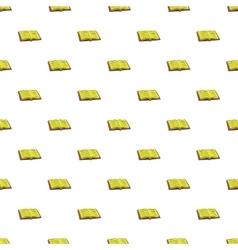Tutorial pattern cartoon style vector