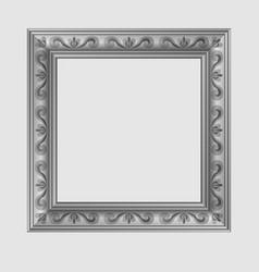 square decorative frame vector image