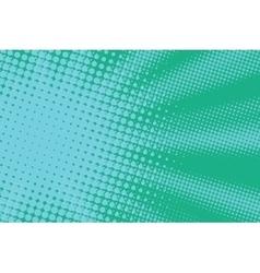 green sun pop art light vector image vector image