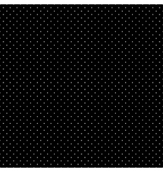 White Dots Black Background vector image vector image