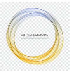 abstract background round futuristic wavy vector image