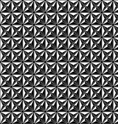 Abstract modern seamless pattern black vector