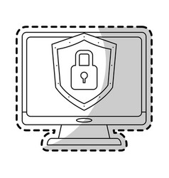 antivirus icon image vector image