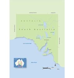 Australia South Australia vector