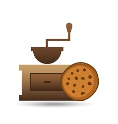 cookie bakery icon design graphic vector image
