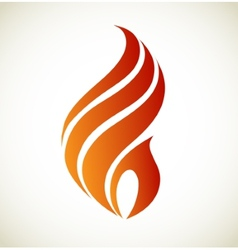 Flame vector image vector image