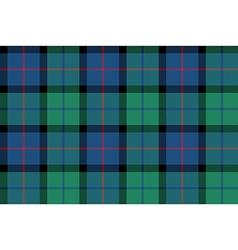 Flower of scotland tartan seamless pattern fabric vector