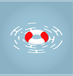 isometric lifebuoy concept vector image