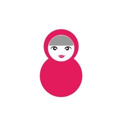 Matryoshka Doll vector image