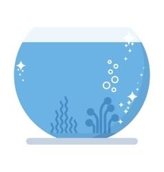 new aquarium pet fish vector image