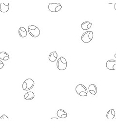 peanuts pattern seamless vector image