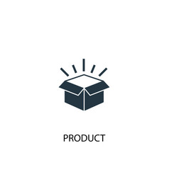 product icon simple element vector image