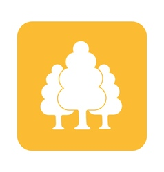 Tree forest icon vector