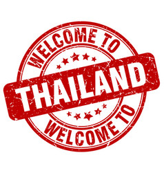 Welcome to thailand vector