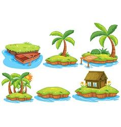 Islands vector image vector image