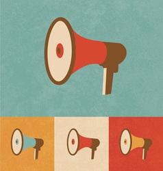 Megaphone Icon vector image vector image