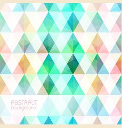colorful light mosaic grid background vector image vector image