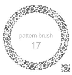 Ancient pattern curls decor vector