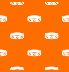 bracelet with gems pattern seamless vector image