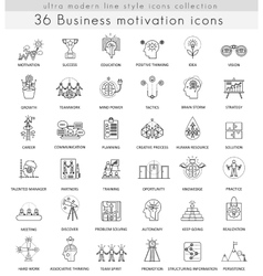 Business motivation and discipline ultra vector
