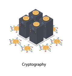 Cryptography isometric vector