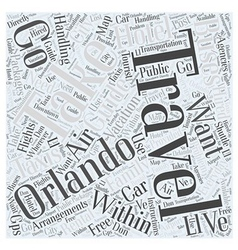 Handling Orlando Travel Arrangements For Your vector